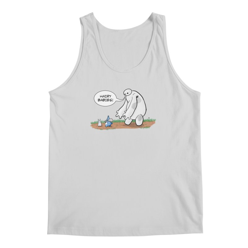 Hairy Babies Men's Regular Tank by Joel Siegel's Artist Shop