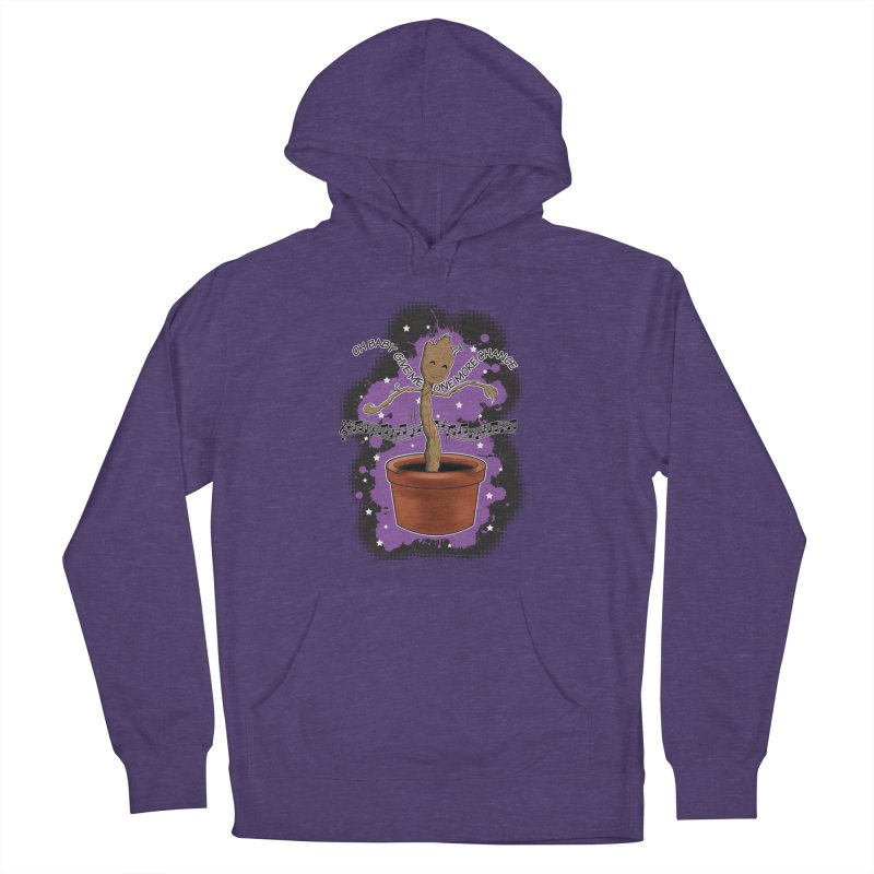 Space Dancin! Women's French Terry Pullover Hoody by Joel Siegel's Artist Shop