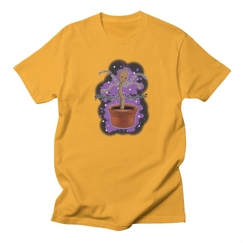 Space Dancin! Men's Regular T-Shirt by Joel Siegel's Artist Shop