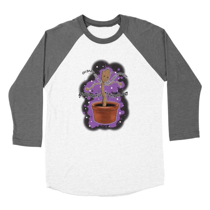 Space Dancin! Women's Baseball Triblend T-Shirt by Joel Siegel's Artist Shop