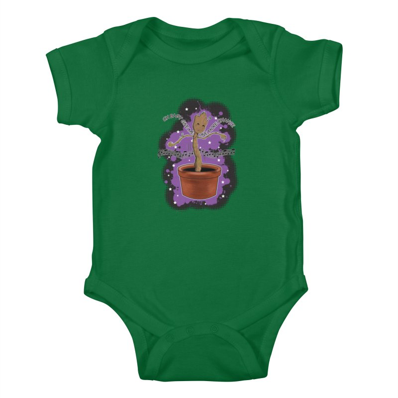 Space Dancin! Kids Baby Bodysuit by Joel Siegel's Artist Shop