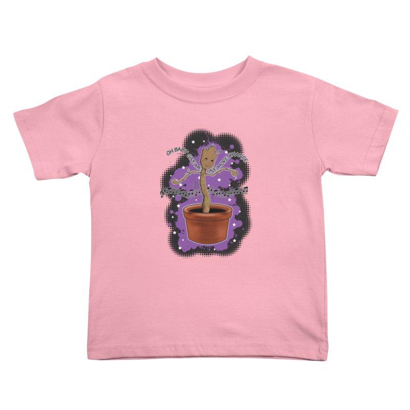 Space Dancin! Kids Toddler T-Shirt by Joel Siegel's Artist Shop