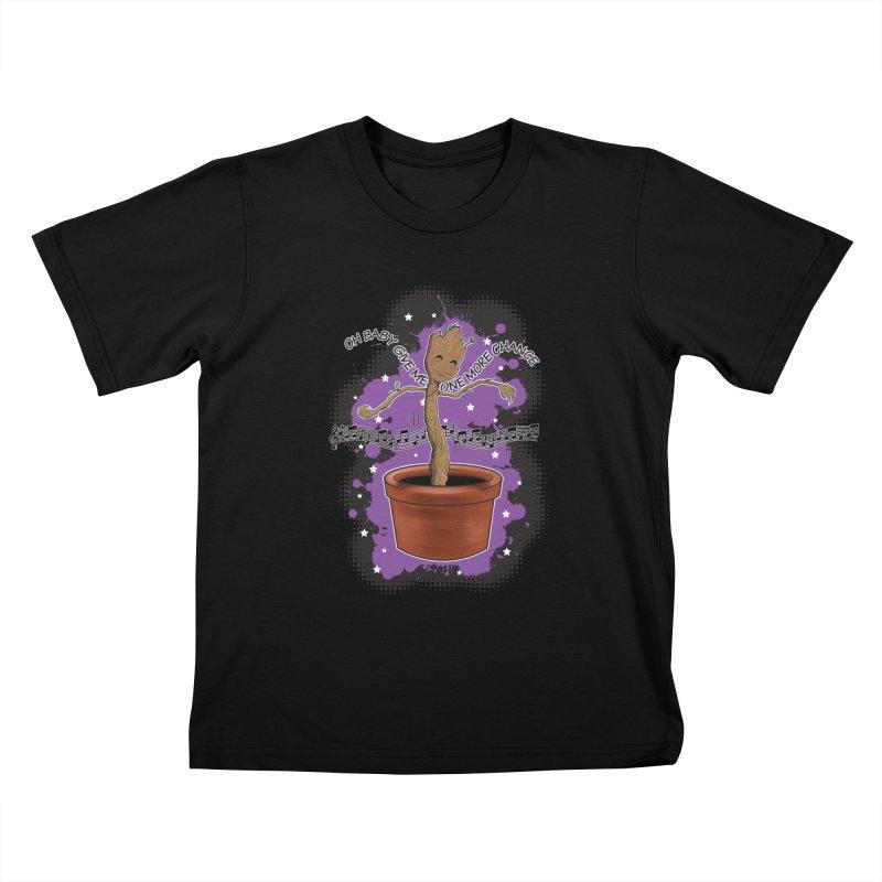Space Dancin! Kids T-Shirt by Joel Siegel's Artist Shop
