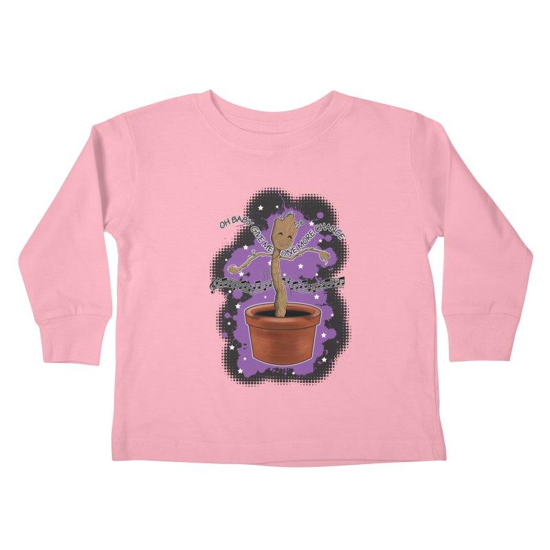 Space Dancin! Kids Toddler Longsleeve T-Shirt by Joel Siegel's Artist Shop