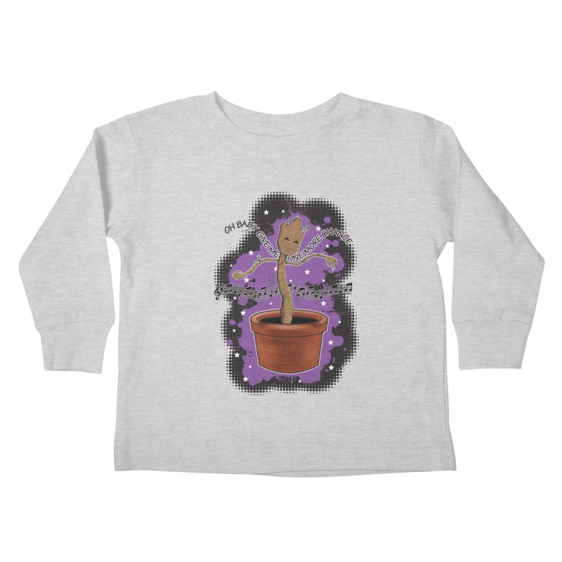Space Dancin! Kids Toddler Longsleeve T-Shirt by Joel Siegel's Artist Shop