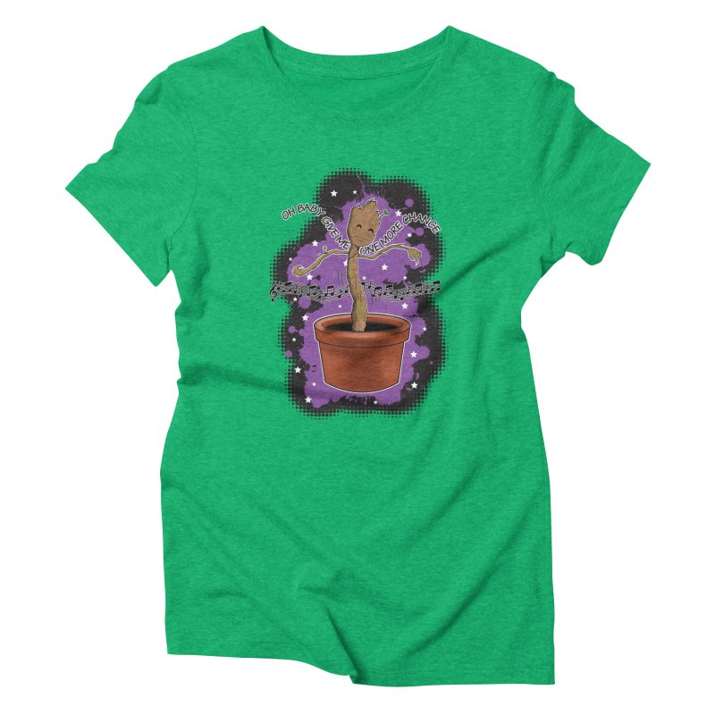 Space Dancin! Women's Triblend T-Shirt by Joel Siegel's Artist Shop