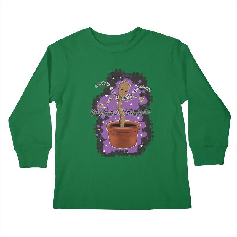 Space Dancin! Kids Longsleeve T-Shirt by Joel Siegel's Artist Shop