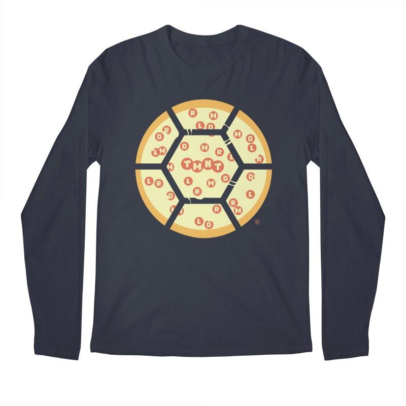 Half Shell Pizza Men's Regular Longsleeve T-Shirt by Joel Siegel's Artist Shop