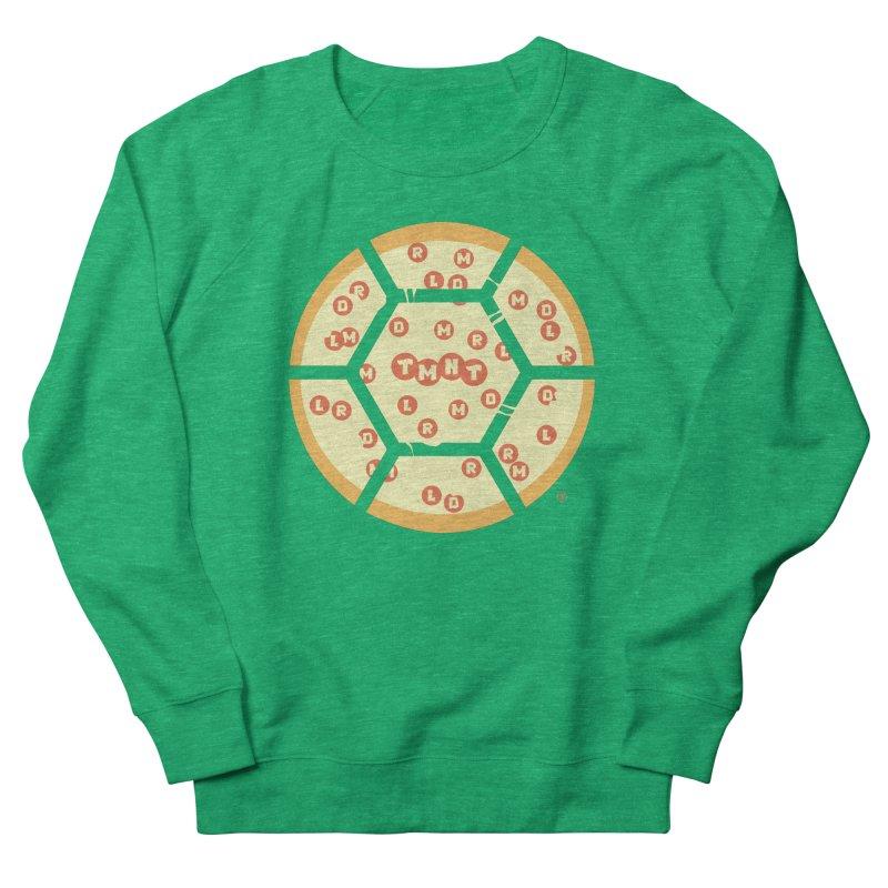 Half Shell Pizza Women's Sweatshirt by Joel Siegel's Artist Shop