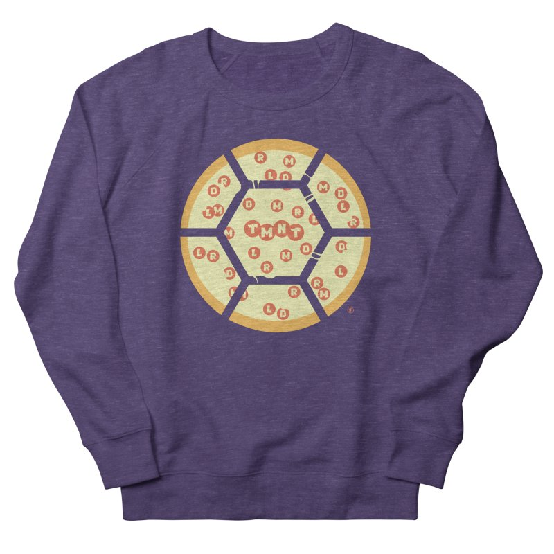 Half Shell Pizza Women's Sweatshirt by Joel Siegel's Artist Shop
