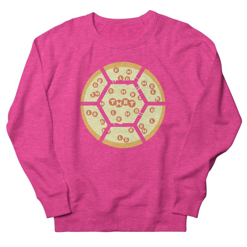 Half Shell Pizza Men's French Terry Sweatshirt by Joel Siegel's Artist Shop