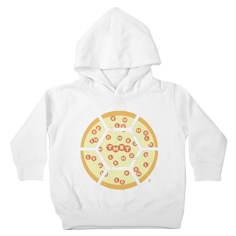 Half Shell Pizza Kids Toddler Pullover Hoody by Joel Siegel's Artist Shop