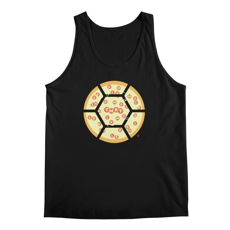 Half Shell Pizza Men's Tank by Joel Siegel's Artist Shop