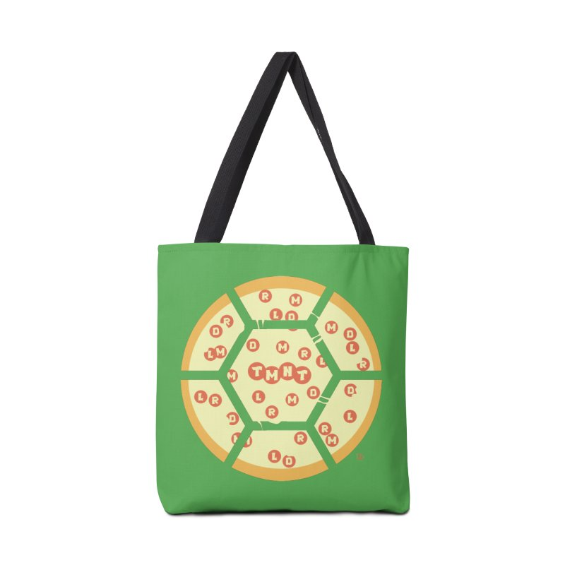 Half Shell Pizza Accessories Tote Bag Bag by Joel Siegel's Artist Shop