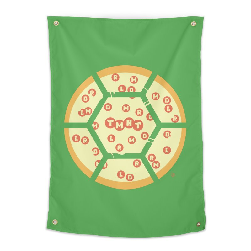 Half Shell Pizza Home Tapestry by Joel Siegel's Artist Shop