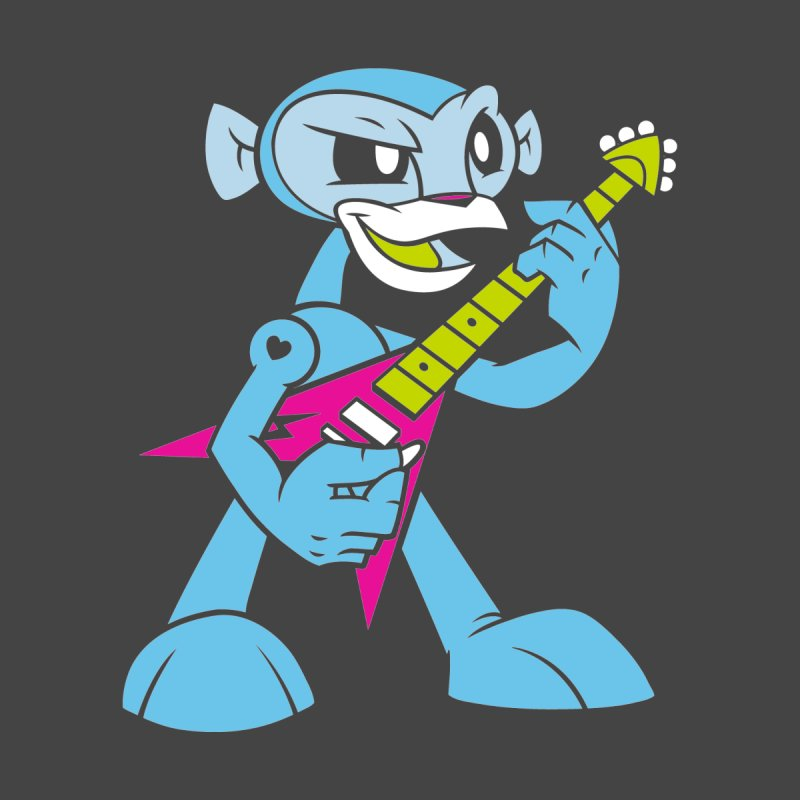 Rockin' Monkey None  by Joe Ledbetter's Artist Shop