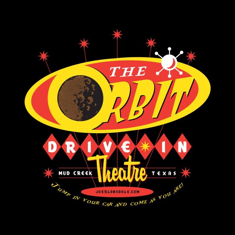The Orbit Drive-in Theatre Kids Longsleeve T-Shirt by Joe R. Lansdale's All-Night Horror Show
