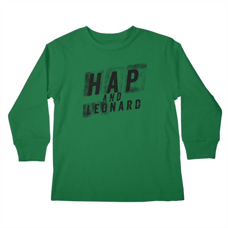 HAP AND LEONARD 3 Kids Longsleeve T-Shirt by Joe R. Lansdale's All-Night Horror Show