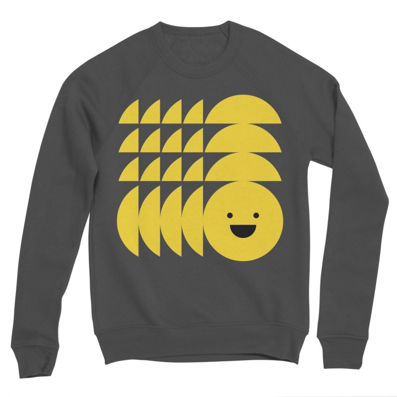 Smiiiiiiile Men's Sponge Fleece Sweatshirt by Joe Stone — Artist Shop