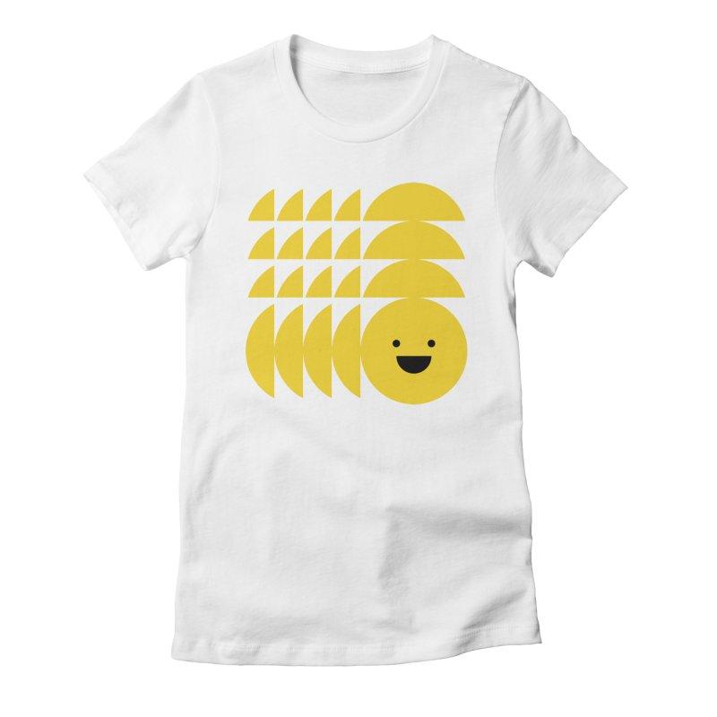 Smiiiiiiile Women's Fitted T-Shirt by Joe Stone — Artist Shop