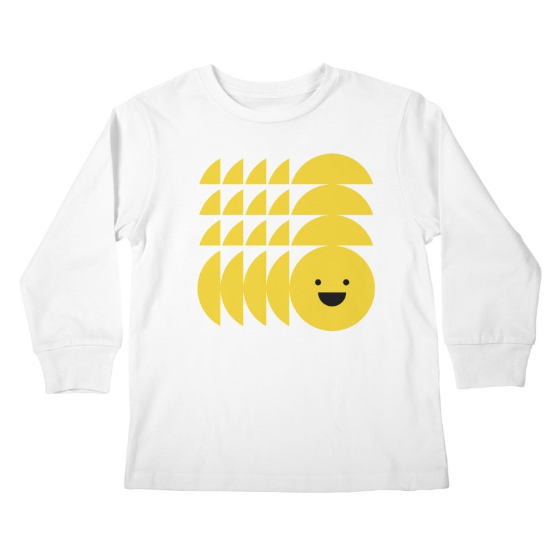 Smiiiiiiile Kids Longsleeve T-Shirt by Joe Stone — Artist Shop