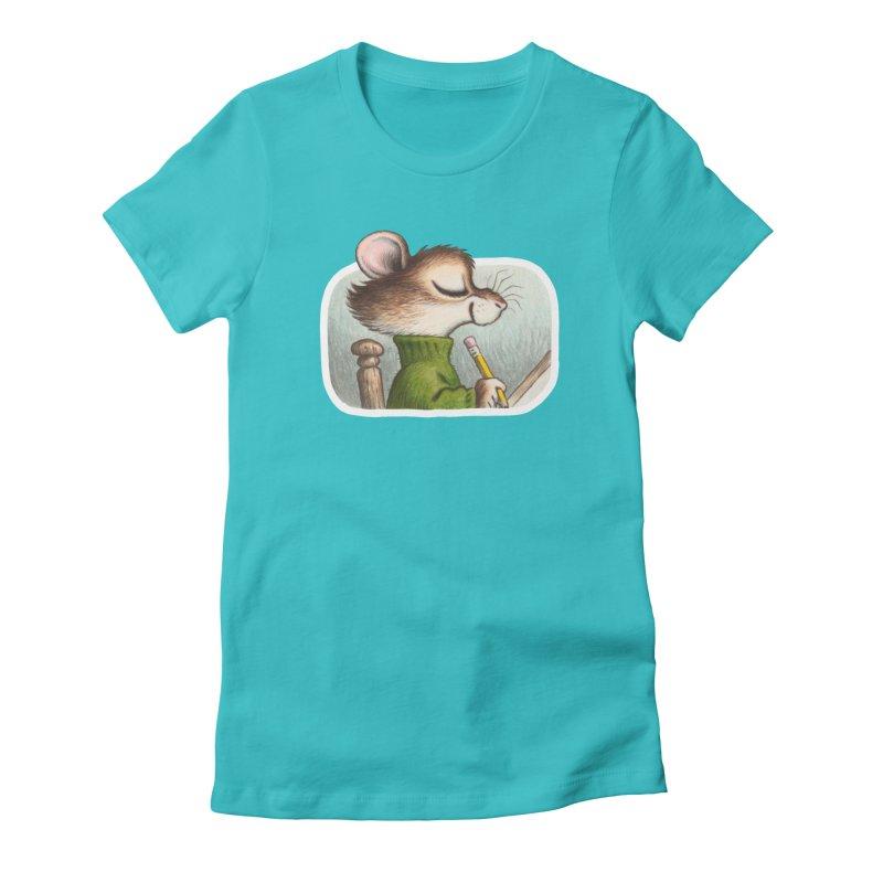 Little Artist Women's Fitted T-Shirt by Joe Sutphin's Artist Shop
