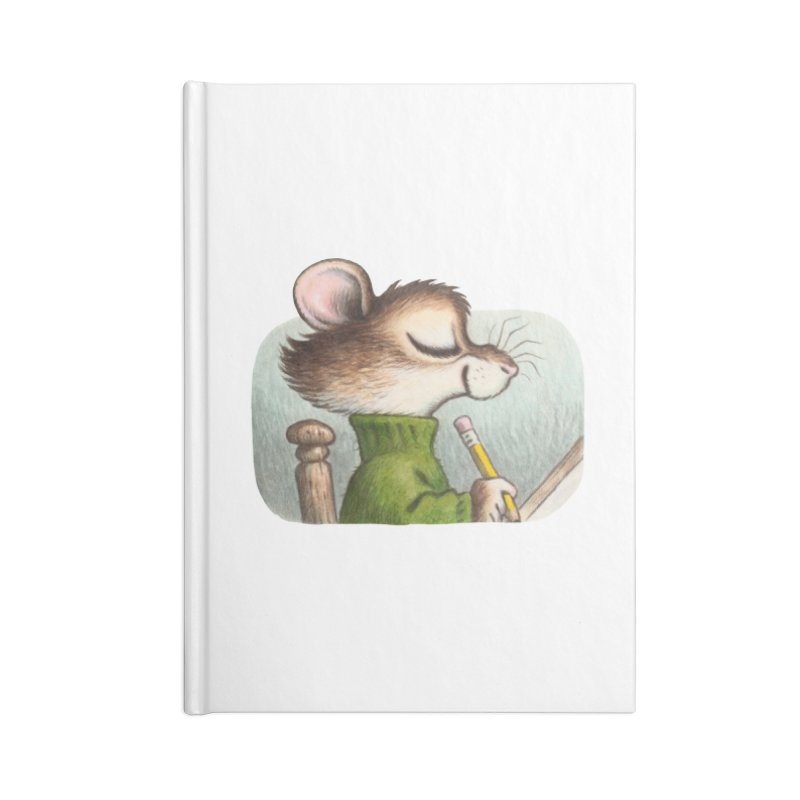 Little Artist Accessories Lined Journal Notebook by Joe Sutphin's Artist Shop
