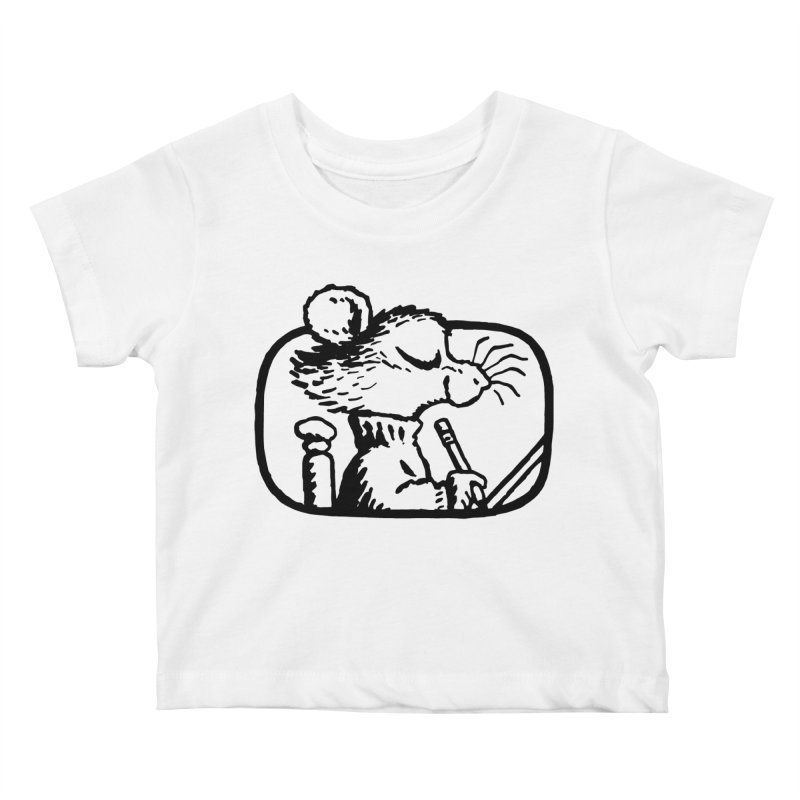 Little Artist Original Stamp Kids Baby T-Shirt by Joe Sutphin's Artist Shop