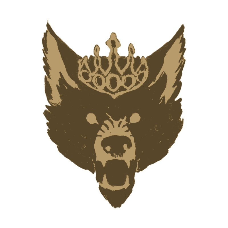 Wolf King Icon Neutral by Joe Sutphin's Artist Shop