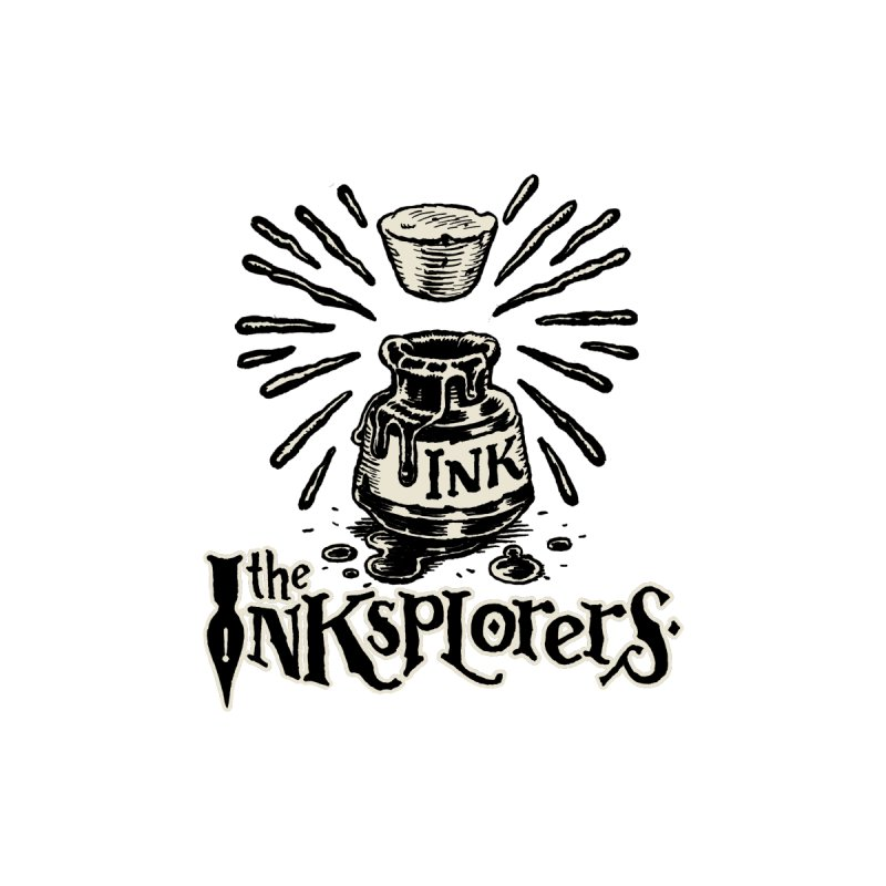 Inksplorers Logo Inkwell by Joe Sutphin's Artist Shop