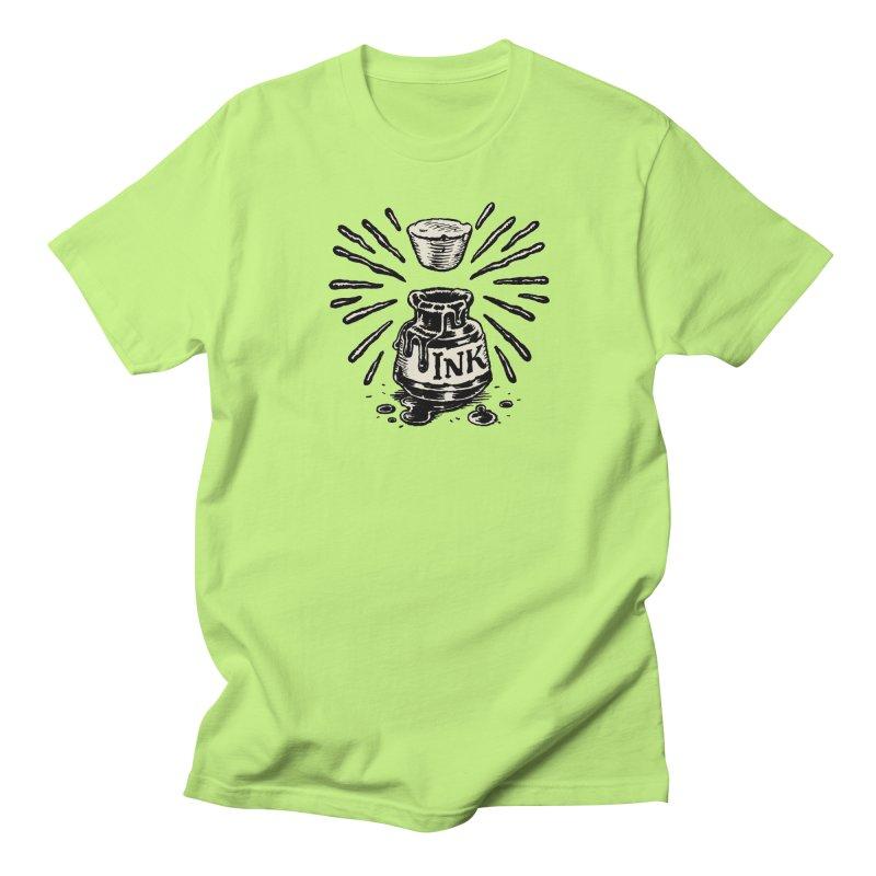 Inksplorers Inkwell Women's Regular Unisex T-Shirt by Joe Sutphin's Artist Shop