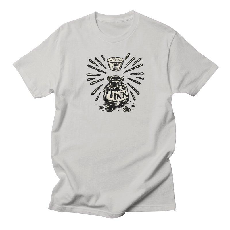 Inksplorers Inkwell Men's Regular T-Shirt by Joe Sutphin's Artist Shop