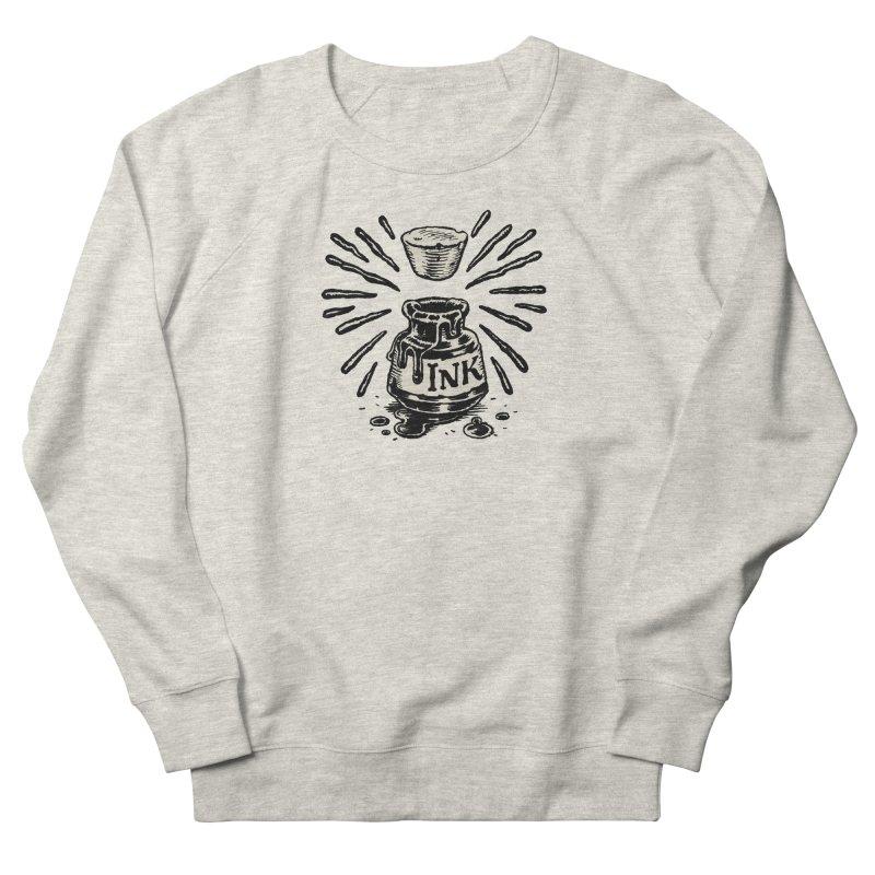 Inksplorers Inkwell Women's French Terry Sweatshirt by Joe Sutphin's Artist Shop