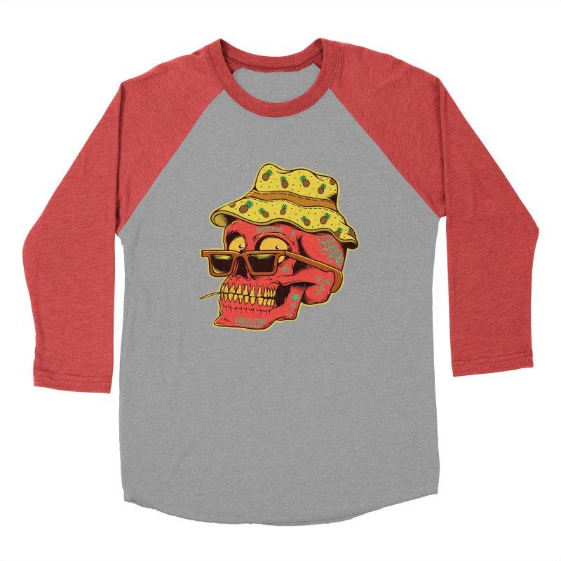 Maracaibo! Men's Baseball Triblend Longsleeve T-Shirt by Joe Tamponi