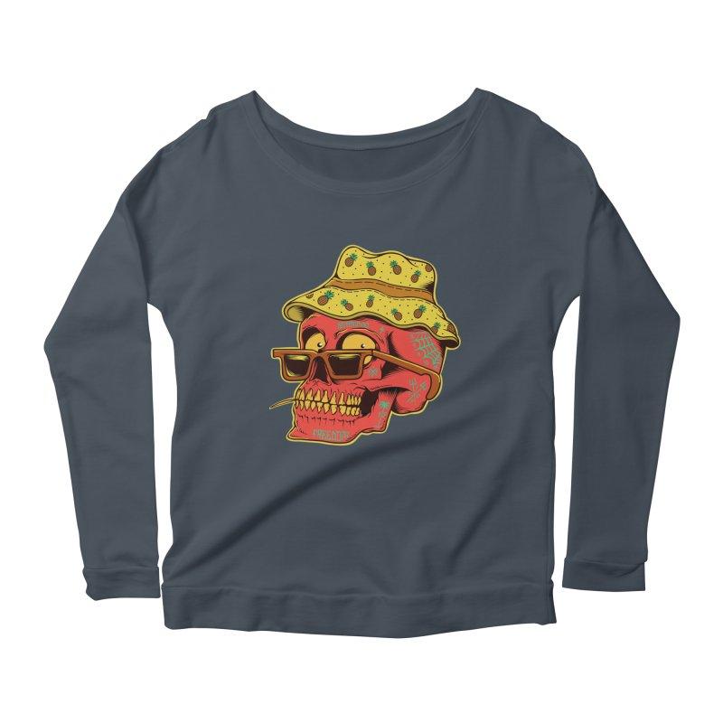 Maracaibo! Women's Scoop Neck Longsleeve T-Shirt by Joe Tamponi