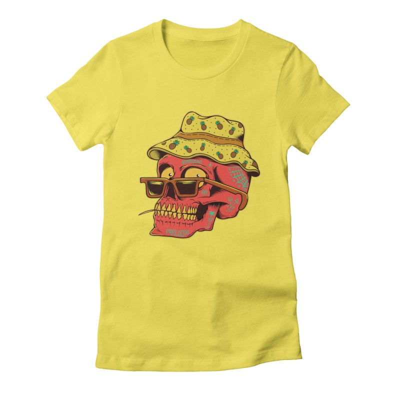 Maracaibo! Women's Fitted T-Shirt by Joe Tamponi