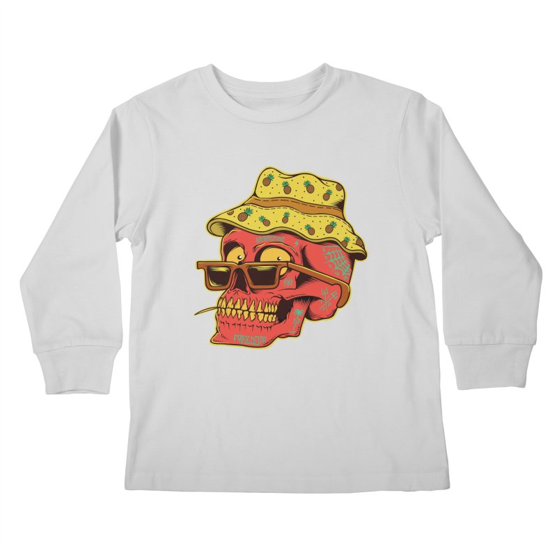 Maracaibo! Kids Longsleeve T-Shirt by Joe Tamponi