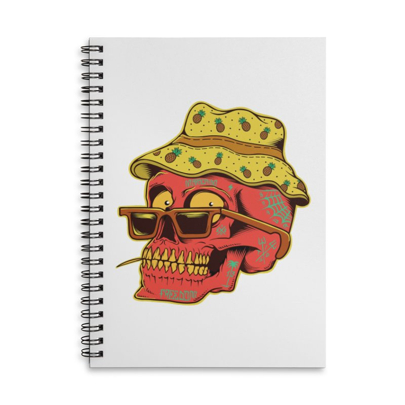 Maracaibo! Accessories Lined Spiral Notebook by Joe Tamponi