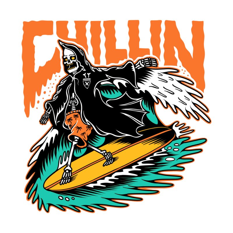 Grim Reaper Surfing chilling by Joe Tamponi