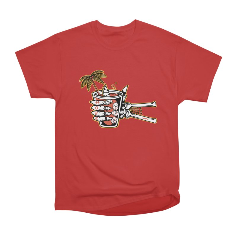 Hope cocktail Men's Heavyweight T-Shirt by Joe Tamponi