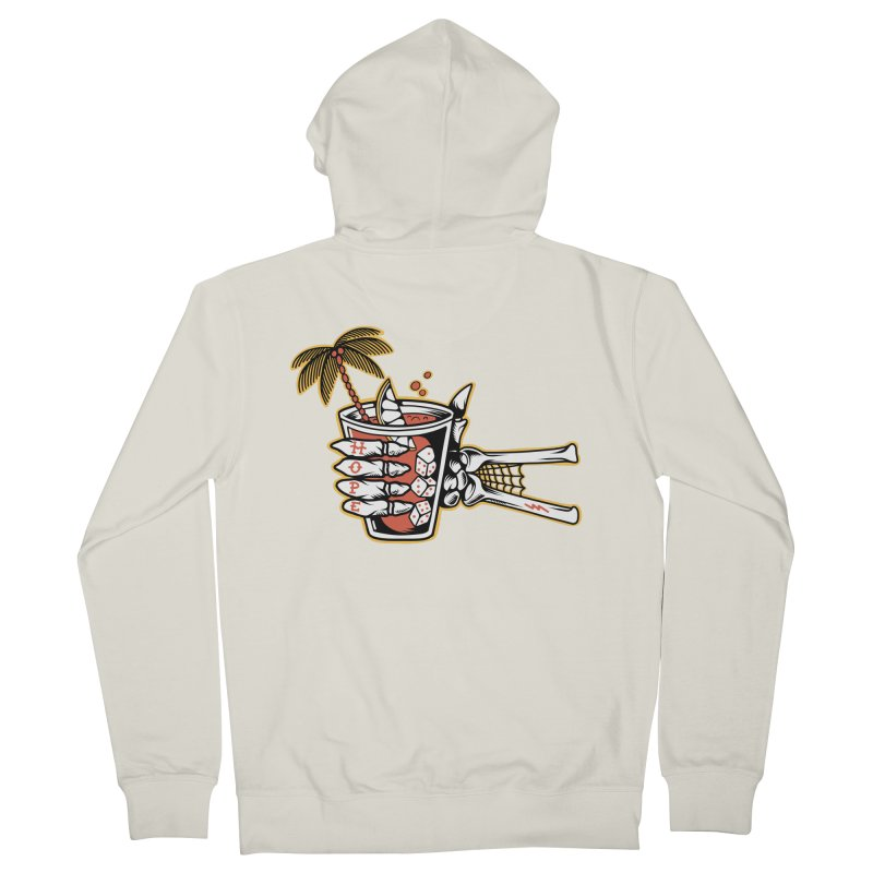 Hope cocktail Women's French Terry Zip-Up Hoody by Joe Tamponi