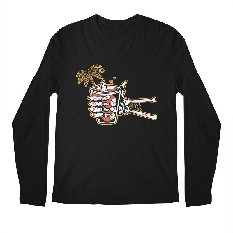 Hope cocktail Men's Regular Longsleeve T-Shirt by Joe Tamponi