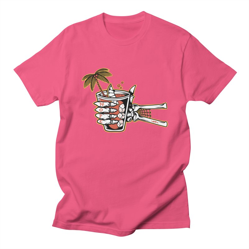 Hope cocktail Men's Regular T-Shirt by Joe Tamponi