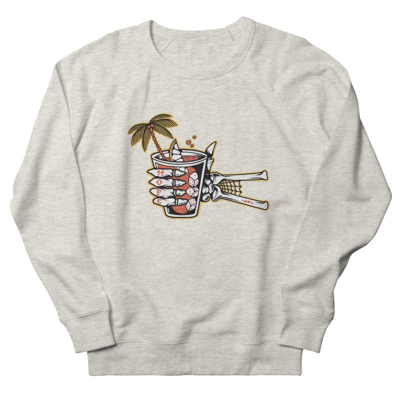 Hope cocktail Men's French Terry Sweatshirt by Joe Tamponi