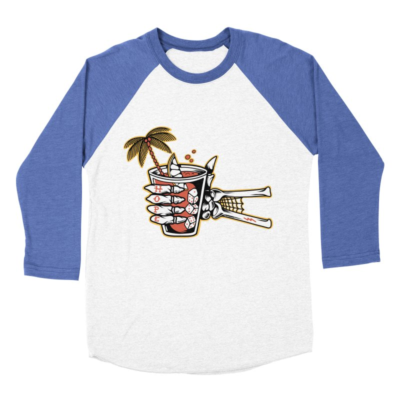 Hope cocktail Women's Baseball Triblend Longsleeve T-Shirt by Joe Tamponi