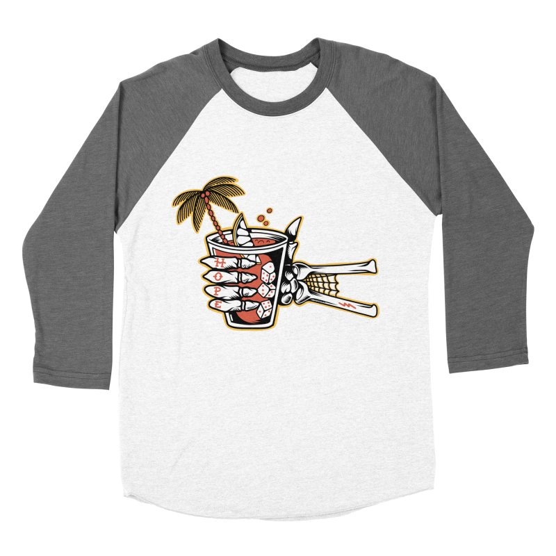 Hope cocktail Women's Baseball Triblend Longsleeve T-Shirt by Joe Tamponi