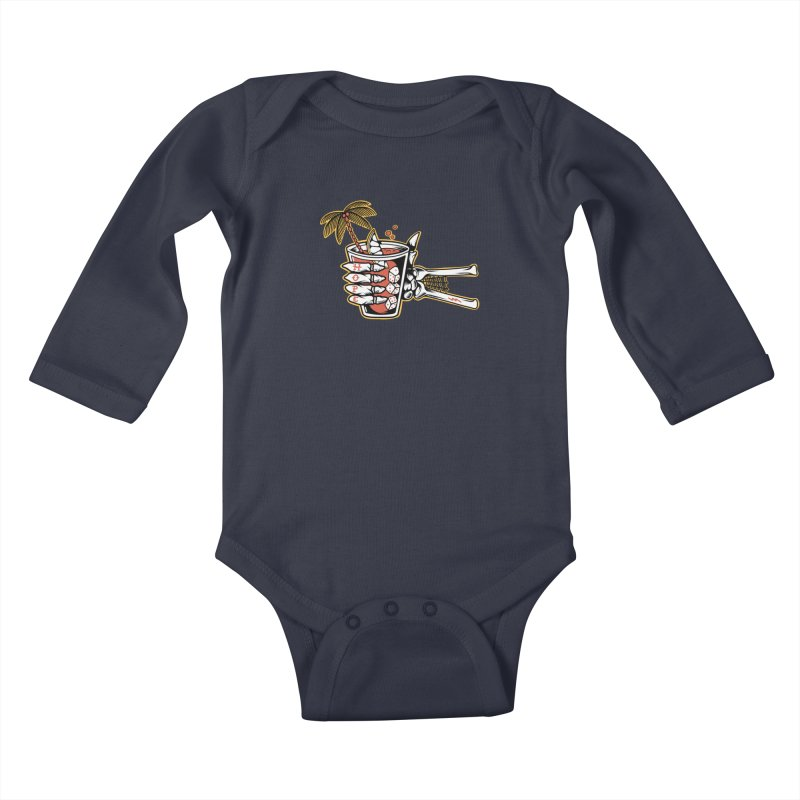 Hope cocktail Kids Baby Longsleeve Bodysuit by Joe Tamponi