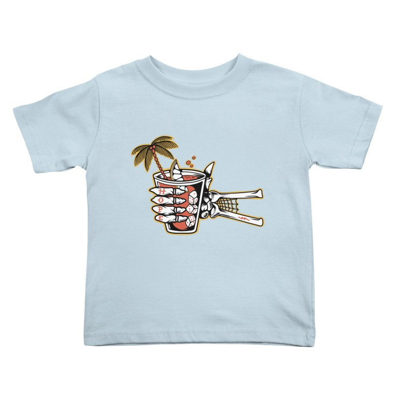 Hope cocktail Kids Toddler T-Shirt by Joe Tamponi