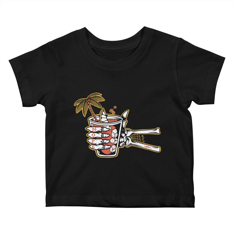Hope cocktail Kids Baby T-Shirt by Joe Tamponi