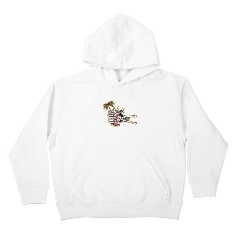 Hope cocktail Kids Pullover Hoody by Joe Tamponi